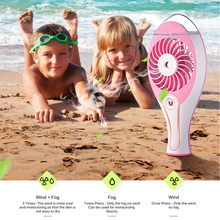 Portable Mini USB Fan Air Conditioner Cooler Battery Fan Rechargeable Handheld Humidifier Outdoor Fan cooling fans for Home