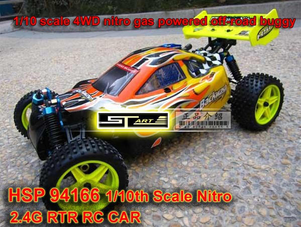 94166 HSP 4WD nitro Off Road Buggy
