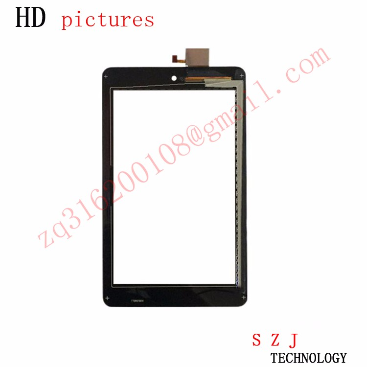 """New 7"""" inch Touch Screen With Digitizer Panel Front Glass FOR Dell T01C Venue 7 3730 free shipping"""