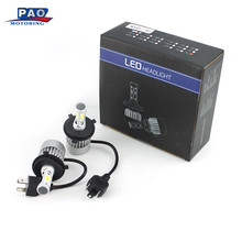 Automobiles LED Car Truck SUV RV HID Headlight Led Lamps Bulbs DC 9V-36V 6000K H4 / HB2 / 9003 72W 7200LM Car-Styling Front(China)