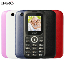 Original IPRO I3185 1.8 Inch Push-Button Mobile Phone Bluetooth GSM Dual SIM Cheap Cell Phone for Kid Elderly Russian Language(China)