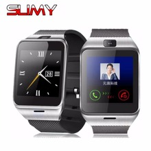 Slimy Bluetooth Smart Watch GV18 Smartwatch for iPhone 4/4S/5/5S/6 Samsung S4/Note/s6 HTC Android Phone Cheapest Smartwatch