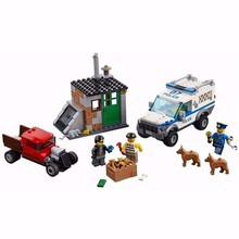 Bea 10419 City Police Dog Unit Truck Crooks Hideout Building Block set policemenCompatible With Lepin 60048 Boys Toy
