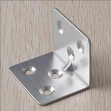 Stainless steel Fixed furniture Corner Brackets 90 degrees Connection accessories angle iron thickness:0.8mm 1.5mm
