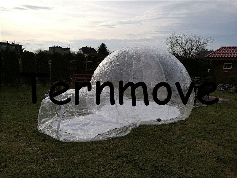 clear Bubble tenta