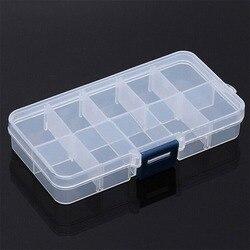 Прозрачный пластиковый органайзер для мелких предметов