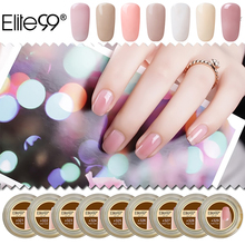 Elite99 15ml 29 Colors Transparent Nail Gel Semi Stransparent Color Extension UV Camouflage Jelly Builder Stand Gel Varnish(China)