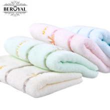 New 2017 Beroyal Brand Towel -1PC/lot 100% Cotton Towel toalha de banho Hand Towel for Adult Towels Bathroom Face Cloth 010125(China)