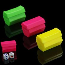 2 Pairs Exquisite Magic Dice Listening Dice Prediction Magic Tricks Props Toys Magician Props Ramdon Colors(China)