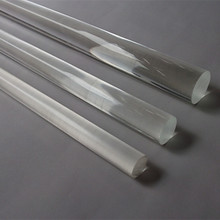 (40pcs/lot) Diameter 15x1000mm Acrylic Round Clear Stick Business Hotel Store Decoration PMMA Rod Home Improvement