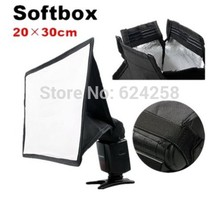 Buy 20x30cm Soft box Flash Softbox Diffuser Nikon SB910/SB900/SB800/SB700/SB600 Canon 580EX,600EX,YONGNUO YN-560II YN-568 for $5.39 in AliExpress store