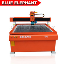 1212 Wood cnc router /Mach 3 system USB Port/HIWIN square linear rail/Vacuum table cnc engraving machine with mach3 controller(China)