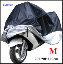 Big Size Motorcycle Cover M Waterproof Outdoor Uv Protector Bike Rain Dustproof, Covers for Motorcycle, Motor Cover Scooter G