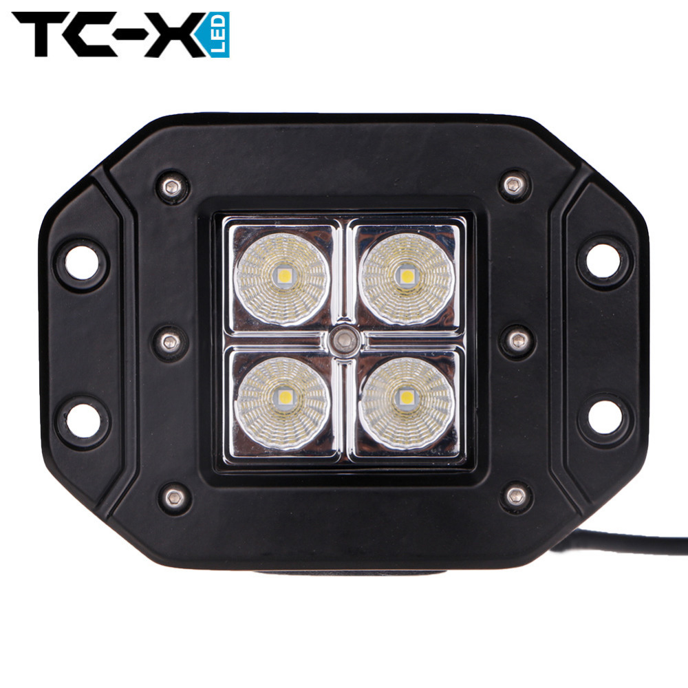 TC-X 1 Pcs 4 x 3W 12W LED Worklight Car Flood Light for Offroads 4X4 Boating / Hunting / Fishing Vehicle Working Light Wholesale<br><br>Aliexpress