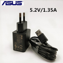 Original ASUS Zenfone 2 charger 5.2V 1.35A ASUS zenfone 3 Max 5 Zc550kl Ze551ml Mobile Phone USB Wall AC Adapter &USB Data cable