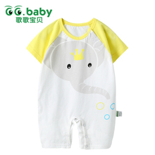 2017 New Baby Girl Romper Brand Newborn Baby Rompers Boy Clothes Summer Baby Girl Jumpsuit Costumes Sleepsuit Infantil Clothing