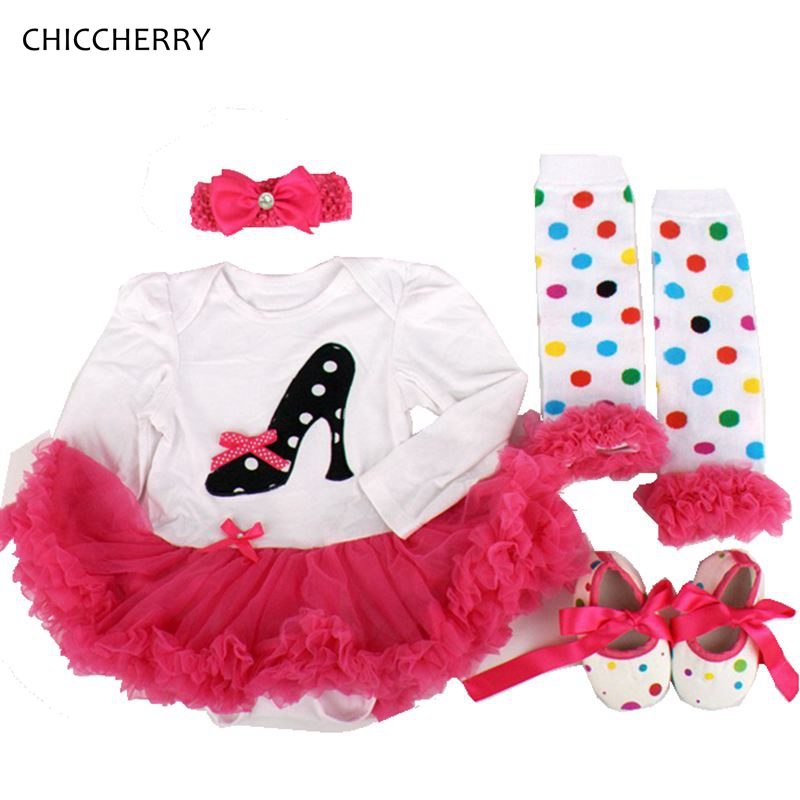 Fancy Design Baby Girl Clothes Applique Newborn Tutu Sets Headband &amp; Legwarmers Long Sleeves Lace Romper Party Dress Kids Outfit<br><br>Aliexpress