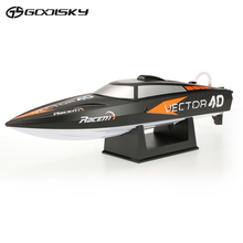 GoolSky V797-1 Vector 40 2.4G RTR 35km/h High Speed RC Racing Boat with ABS Unibody RC Boat Speedboat Ship Remote Control Toys