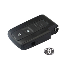 For Toyota Prius Fob 2 Buttons Smart Remote Key Keyless Entry Case Shell for Toyota Prius Fob With Logo