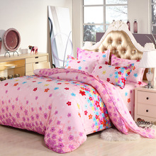 wedding decorative jacquard 4pcs Bedding set Cotton bed sheet +duvet cover + pillowcase-king queen size or Child bedroom set