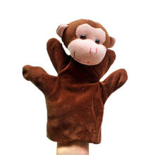 5pcs/lot Monkey Puppet Plush Hand Puppets,Stuffed Doll,Glove-puppet,Plush Marionette Toy Talking Props Chirstmas Day Gift t(China)