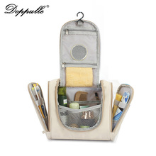 DOPPULLE Brand Hot Sale!Large Hanging Travel Man Deluxe Toiletry Bag Wash Makeup Organizer Pouch Women Big Cosmetic Bags Bulk