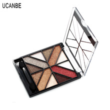 Beautiful Pigmented 12 Colors Eyeshadow Palette Makeup Glitter Eye Shadow Special Palette Cosmetic With Brush
