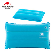 Naturehike Inflated Pillows Compressed Folding Non-slip Pillow Suede Fabric Use For Travel Camping Outdoor kits(China)
