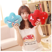 20/30CM Cute Cushion crying/laugh Flying-cloud Plush Toys Kids Toys Cartoon Expression Cloud Plush Pillow(China)