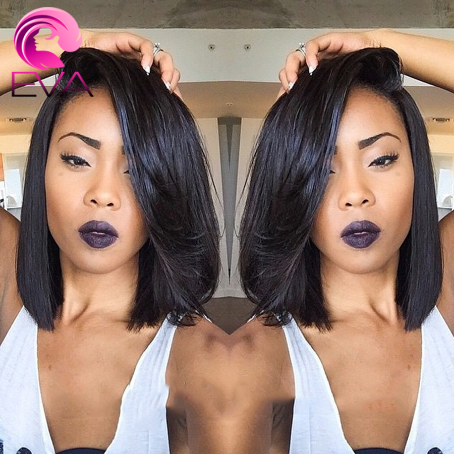 Top Quality Brazilian Full Lace Human Hair Wigs Bob Cut Wigs For Black Women Virgin Hair Short Lace Front Wigs With Baby Hair<br><br>Aliexpress