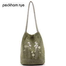 Buy PECKHAMRYE 2017 New Hot Women's Shoulder Handbag Female Canvas Tote Bag Floral Print Beach Bags Girls Handbag for $8.82 in AliExpress store