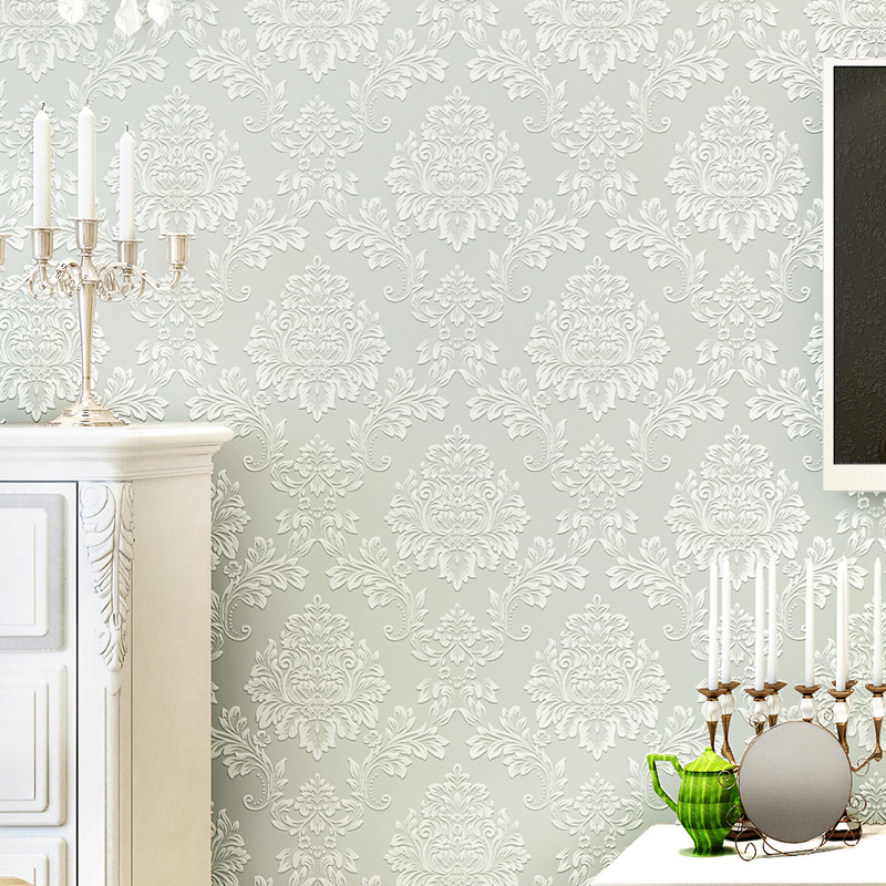 beibehang 3D wall paper Luxury DIY Wallpaper For Walls Rhinestone Ornament Wall Paper Rolls European Papel de parede wallcoverin<br>