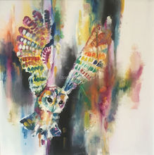Skilled Painter Painted Owl Oil Painting On Canvas Home Decorative Art Wall Picture Modern Abstract Animals For Living Room