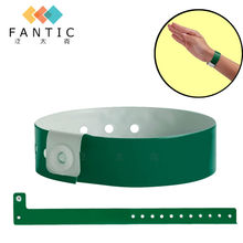 100pcs VINYL WRISTBANDS - PLAIN & CUSTOM PRINTED, security, event, festivals, wide face, plastic wristband, arm bands