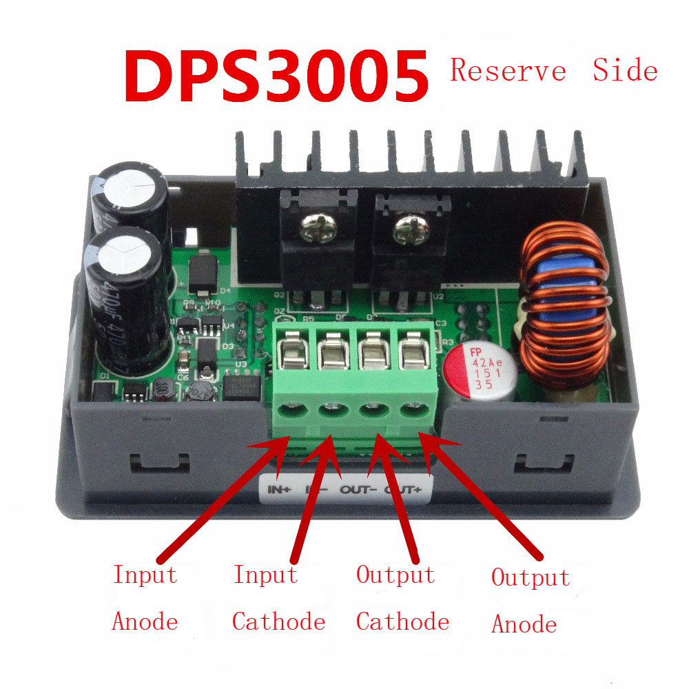 DPS3005 Constant Voltage Current Step-down Programmable Control Supply  Power Module  Buck Voltage Converter Color LCD Voltmeter<br>