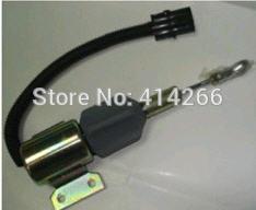 Stop solenoid 24V dc  EC140 Excavator Year 2001 - 3991168, SA-4941-24,3964628<br>