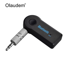 Bluetooth Audio Receiver Wireless Music Transmitter 3.5mm Stereo AUX Receiver Adapter with Mic for Car Speaker Headphone CA001(China)