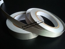 5mm~28mm choose, Silver Single Adhesive Conductive Cloth Tape, Anti-Electromagnetic Interference EMI Shielding, phone pc cable