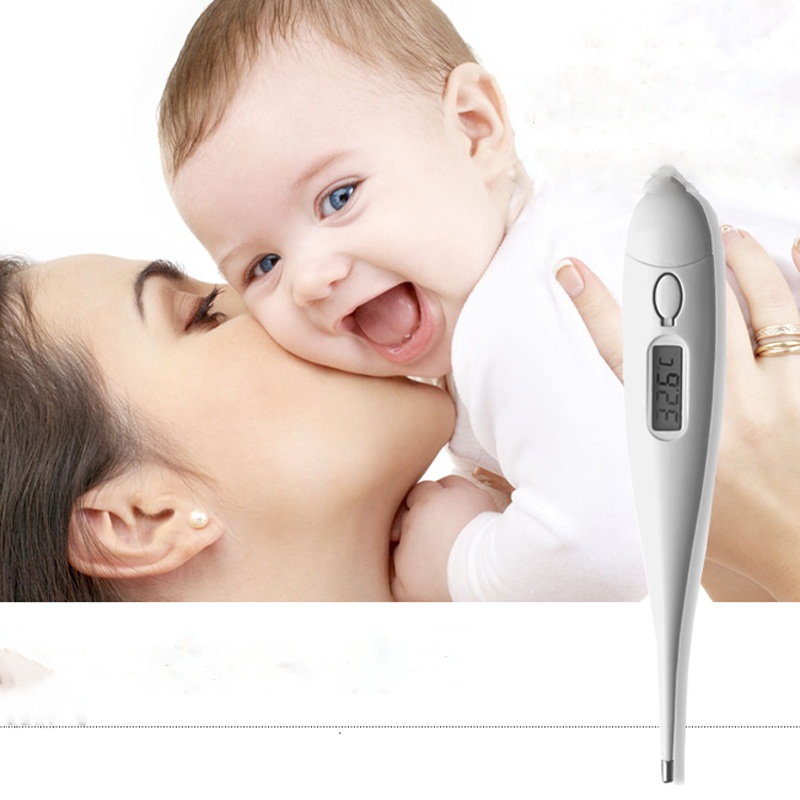 Aliexpress Com Mercury Temperature Baby Electronic Digital Thermometer Babycare Kid Display With Head Ears Forehead Armpit Termometer From