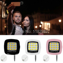 Mobile Phone Portable 16 LED Selfie Flash Light For iPhone6 6p 5s 4s for Samsung Smartphone Canon Gopro Camera