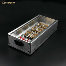 HIFI Aluminum gold-plated phosphor copper US standard power Distributor 6 seats Power supply array socket