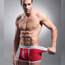 New Brand Sexy Men Boxers Popular Plus Size Underwear Breathable Cotton Spandex Underpants Panties Solid Man Shorts Boxers