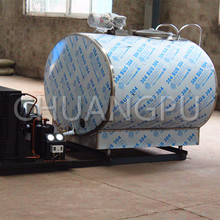 Stainless Steel Direct Expansion Type 1500L Milk Cooling Tank, Milk Chilling Tank for Dairy Farm Use