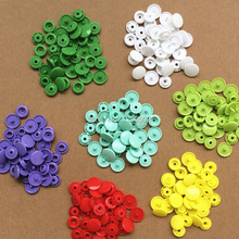 Wholesale 100SETS/LOT Candy color 12.4mm  baby snap buttons plastic snaps clothing accessories