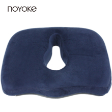 NOYOKE 45*35*8-6 cm Memory Foam Office Seat Back Chair Pads Mats Bottom Seats Memory Foam Cushion for Car Automobile(China)