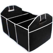 Collapsible Car Trunk Organizer Food Storage Container Bags Truck Cargo Box Car-styling Stowing Tidying Portable Space Saving(China)