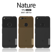 "Nillkin Nature Soft TPU Case Cover For Google Pixel 5.0"" Clear Back Cover for HTC Nexus Sailfish/S1 Slim Phone Silicone Cases"