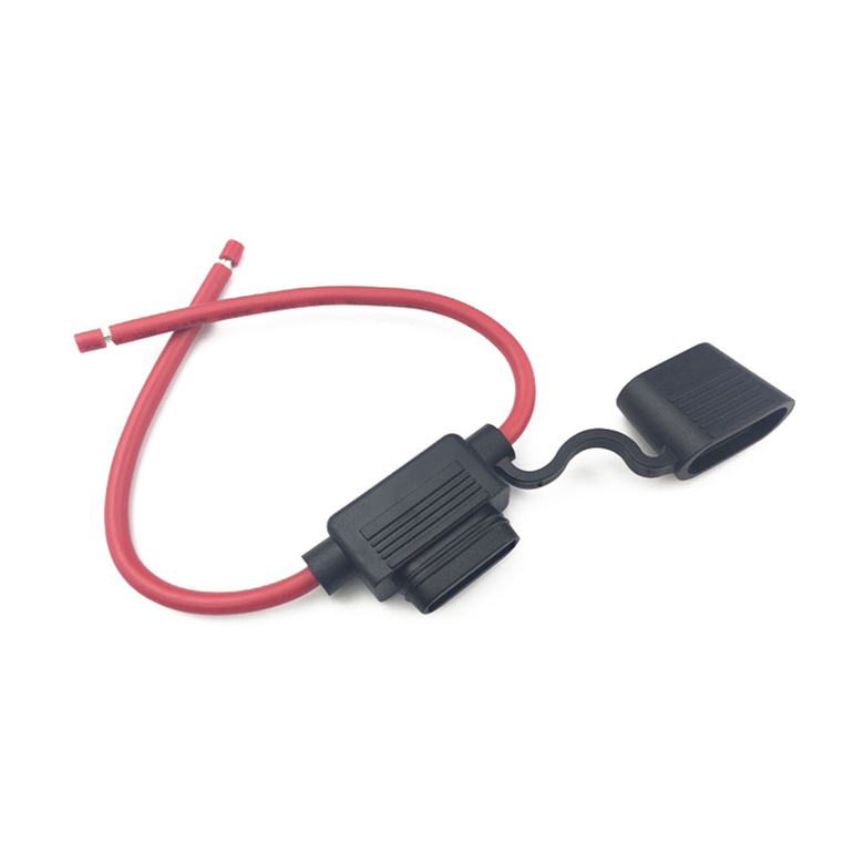 Medium Waterproof Car Insurance Stand High Power 12AWG Strip Line Fuse Box Insert Fuse Holder (1)