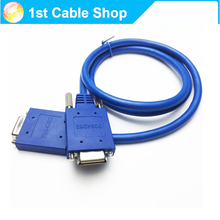 1PCS 3ft 1M CAB-SS-2626X Cisco Compatible cable WIC-2T cable Smart Serial Male DTE to Male DCE Crossover(China)