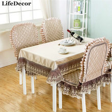 tablecloth coffee table-style lace chair covers tablecloths round tablecloths square coffee table cloth upholstery coverings(China)